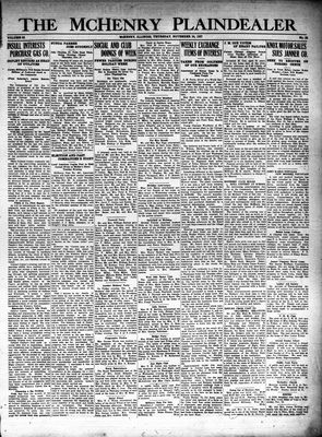 McHenry Plaindealer (McHenry, IL), 24 Nov 1927