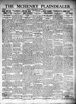 McHenry Plaindealer (McHenry, IL), 8 Dec 1927