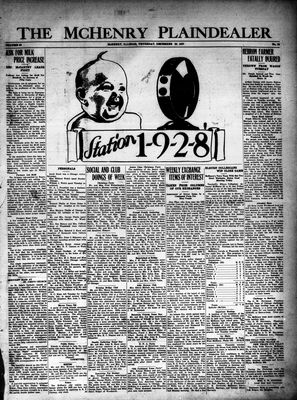 McHenry Plaindealer (McHenry, IL), 29 Dec 1927