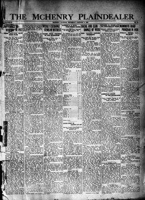 McHenry Plaindealer (McHenry, IL), 5 Jan 1928