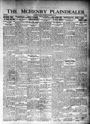 McHenry Plaindealer (McHenry, IL), 12 Jan 1928