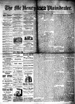 McHenry Plaindealer (McHenry, IL), 29 Mar 1882