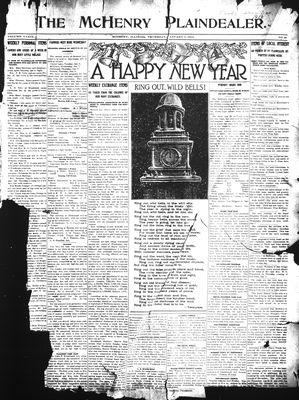 McHenry Plaindealer (McHenry, IL), 1 Jan 1913
