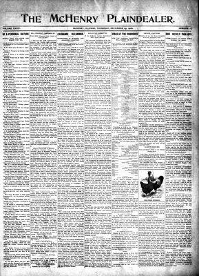 McHenry Plaindealer (McHenry, IL), 25 Dec 1908