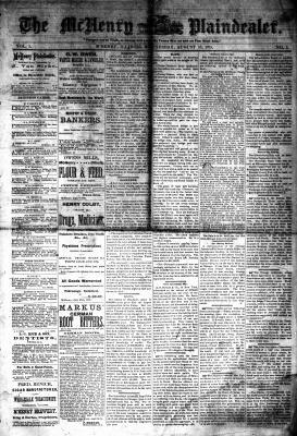 McHenry Plaindealer (McHenry, IL), 18 Aug 1875