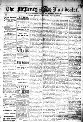 McHenry Plaindealer (McHenry, IL), 25 Aug 1875