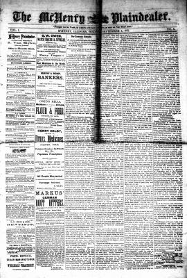 McHenry Plaindealer (McHenry, IL), 1 Sep 1875
