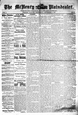 McHenry Plaindealer (McHenry, IL), 8 Sep 1875