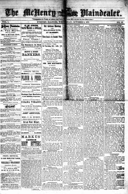 McHenry Plaindealer (McHenry, IL), 6 Oct 1875