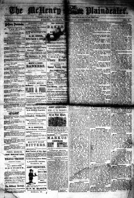 McHenry Plaindealer (McHenry, IL), 24 Nov 1875