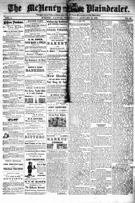 McHenry Plaindealer (McHenry, IL), 26 Jan 1876