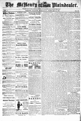 McHenry Plaindealer (McHenry, IL), 23 Feb 1876