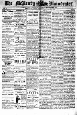 McHenry Plaindealer (McHenry, IL), 1 Mar 1876