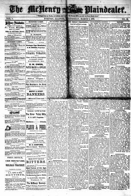 McHenry Plaindealer (McHenry, IL), 8 Mar 1876