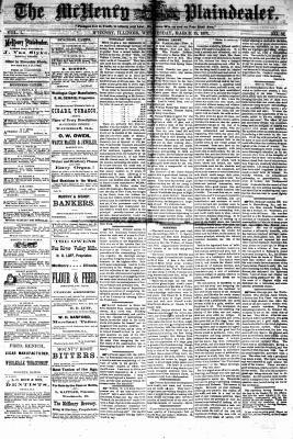 McHenry Plaindealer (McHenry, IL), 15 Mar 1876