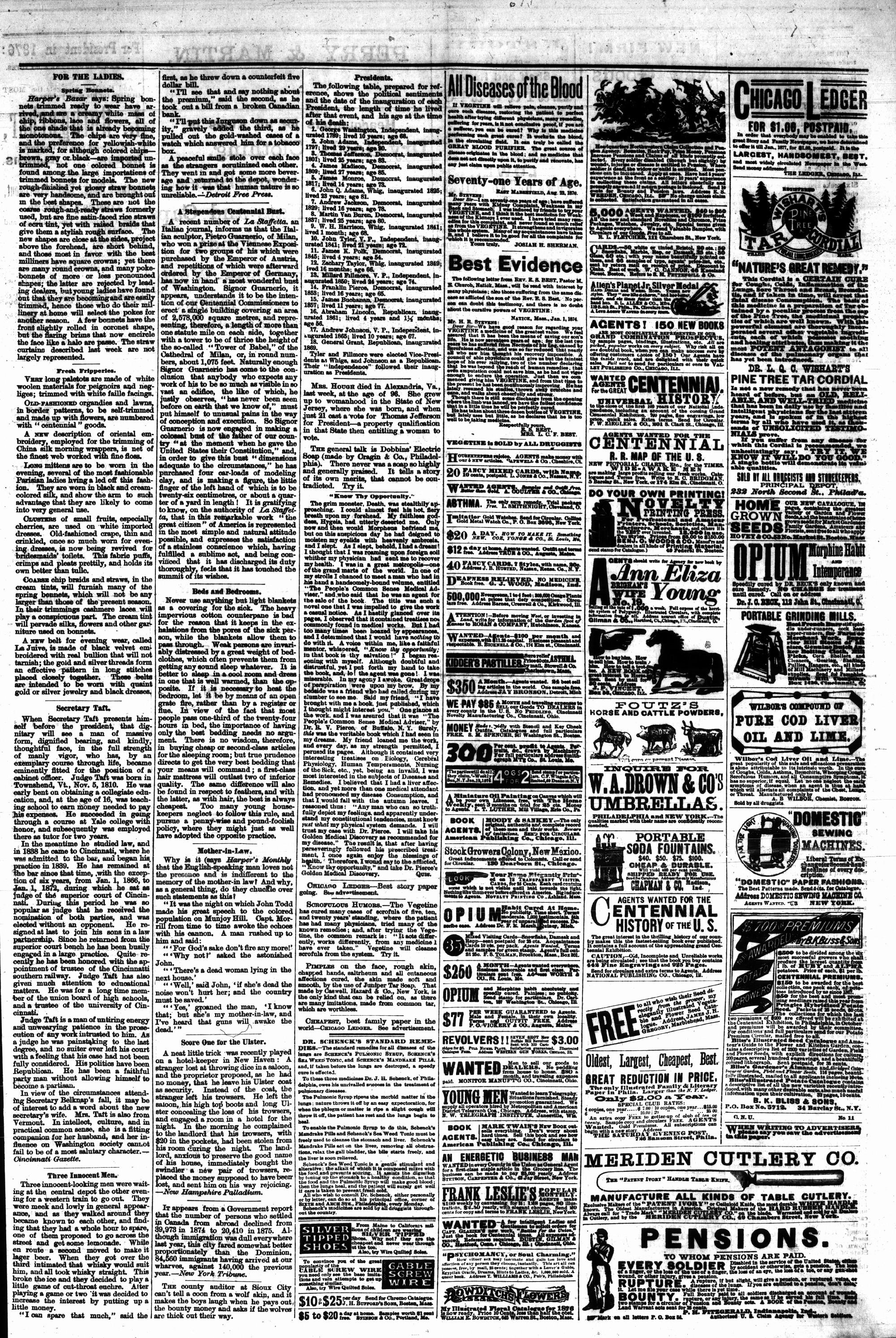 McHenry Plaindealer (McHenry, IL), 22 Mar 1876