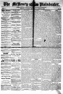 McHenry Plaindealer (McHenry, IL), 29 Mar 1876