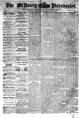 McHenry Plaindealer (McHenry, IL), 3 May 1876