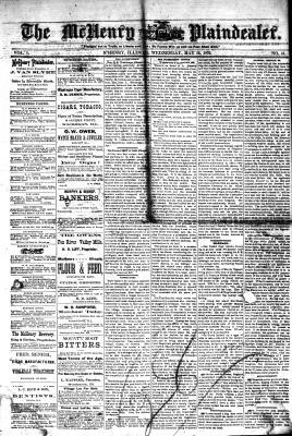 McHenry Plaindealer (McHenry, IL), 10 May 1876