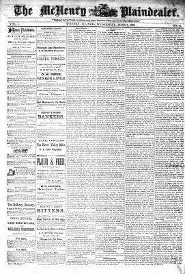 McHenry Plaindealer (McHenry, IL), 7 Jun 1876