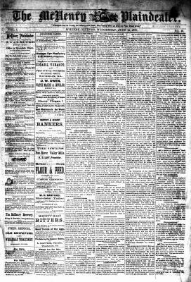 McHenry Plaindealer (McHenry, IL), 14 Jun 1876