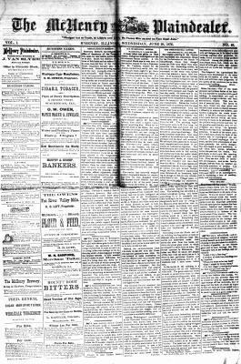 McHenry Plaindealer (McHenry, IL), 28 Jun 1876