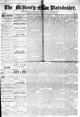 McHenry Plaindealer (McHenry, IL), 12 Jul 1876