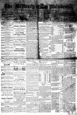 McHenry Plaindealer (McHenry, IL), 2 Aug 1876