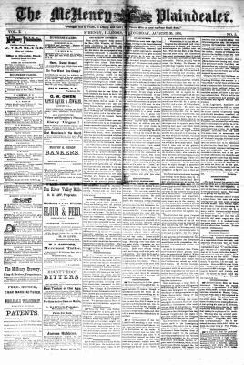 McHenry Plaindealer (McHenry, IL), 30 Aug 1876