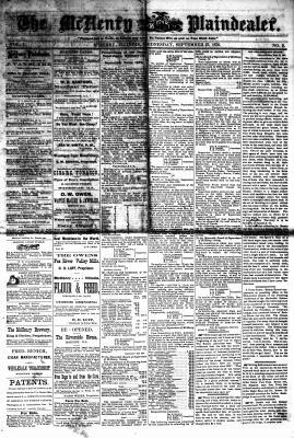 McHenry Plaindealer (McHenry, IL), 27 Sep 1876