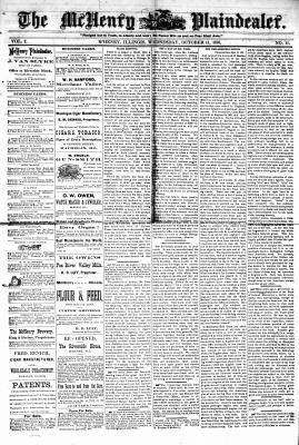 McHenry Plaindealer (McHenry, IL), 11 Oct 1876