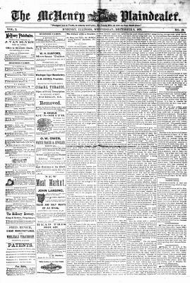 McHenry Plaindealer (McHenry, IL), 6 Dec 1876