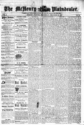 McHenry Plaindealer (McHenry, IL), 27 Dec 1876