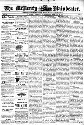 McHenry Plaindealer (McHenry, IL), 10 Jan 1877