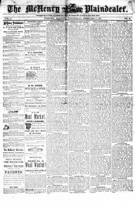 McHenry Plaindealer (McHenry, IL), 7 Feb 1877