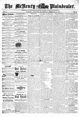 McHenry Plaindealer (McHenry, IL), 14 Feb 1877