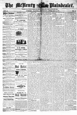 McHenry Plaindealer (McHenry, IL), 21 Feb 1877