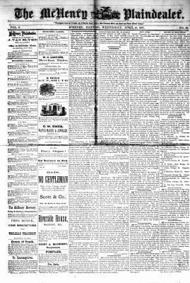 McHenry Plaindealer (McHenry, IL), 18 Apr 1877
