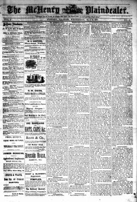 McHenry Plaindealer (McHenry, IL), 9 May 1877