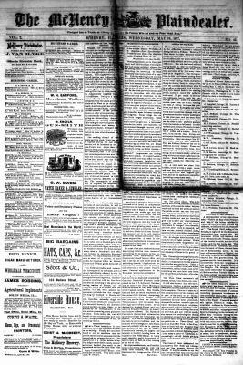 McHenry Plaindealer (McHenry, IL), 16 May 1877