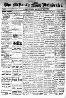 McHenry Plaindealer (McHenry, IL), 23 May 1877