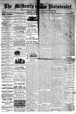 McHenry Plaindealer (McHenry, IL), 6 Jun 1877