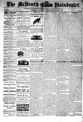 McHenry Plaindealer (McHenry, IL), 27 Jun 1877