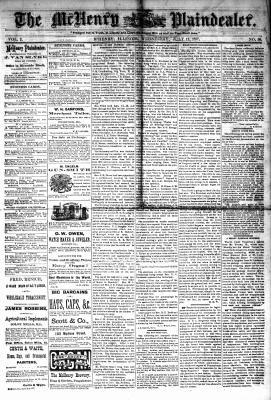 McHenry Plaindealer (McHenry, IL), 11 Jul 1877