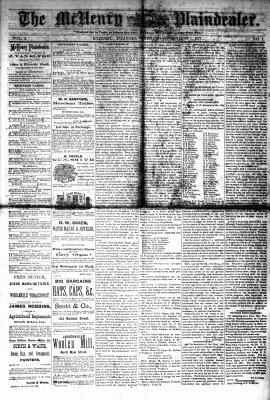 McHenry Plaindealer (McHenry, IL), 1 Aug 1877