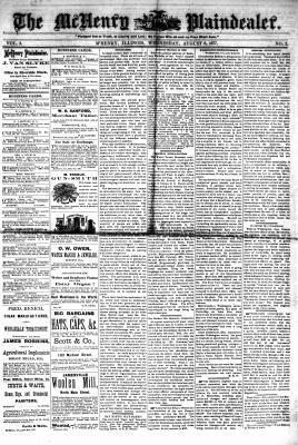 McHenry Plaindealer (McHenry, IL), 8 Aug 1877