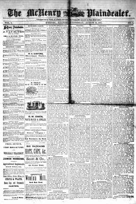 McHenry Plaindealer (McHenry, IL), 15 Aug 1877