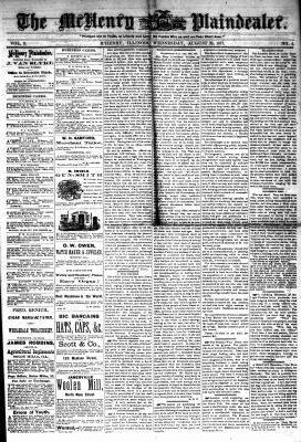 McHenry Plaindealer (McHenry, IL), 22 Aug 1877