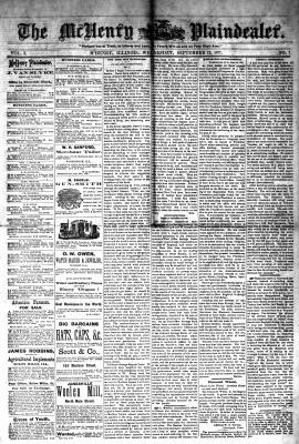 McHenry Plaindealer (McHenry, IL), 12 Sep 1877