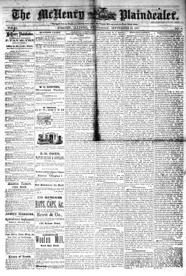 McHenry Plaindealer (McHenry, IL), 19 Sep 1877